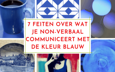 7 Feiten wat je communiceert met de kleur donkerblauw