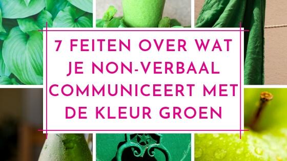 7 feiten over wat je non-verbaal communiceert met de kleur groen