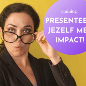 bij pluche training presenteer jezelf met impact