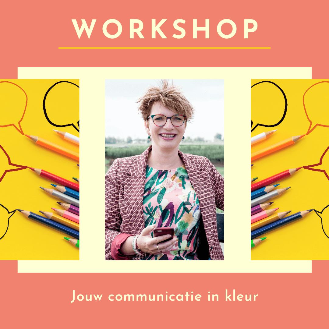 bij Pluche workshop kleur communicatie